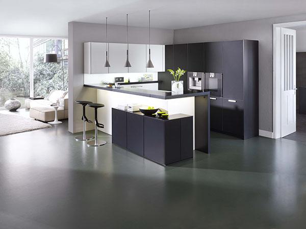 Cuisines contemporaines et design lignes d 39 int rieur laval mayenne for Photos cuisines ouvertes