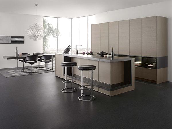 Cuisines contemporaines et design lignes d 39 int rieur for Cuisine ouverte design
