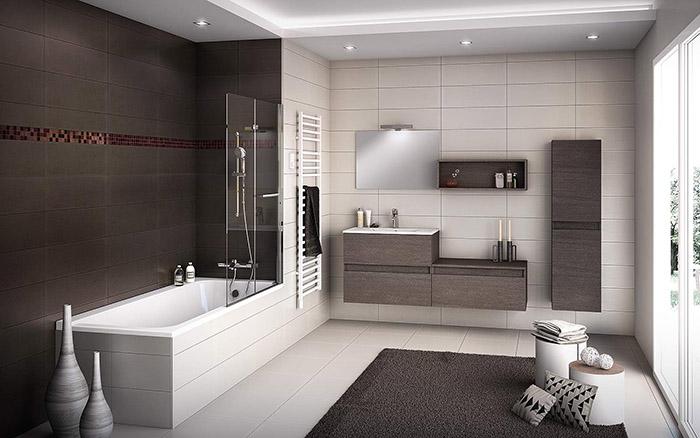 Salles de bain douches meubles de salle de bain for Salle de bain design moderne